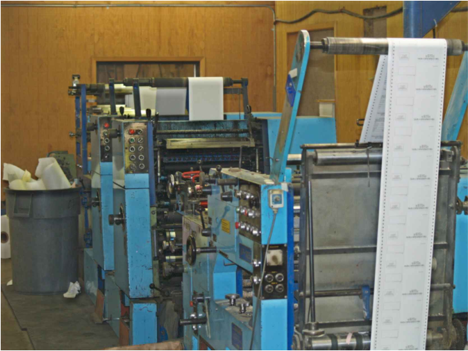 Continuous Form Presses