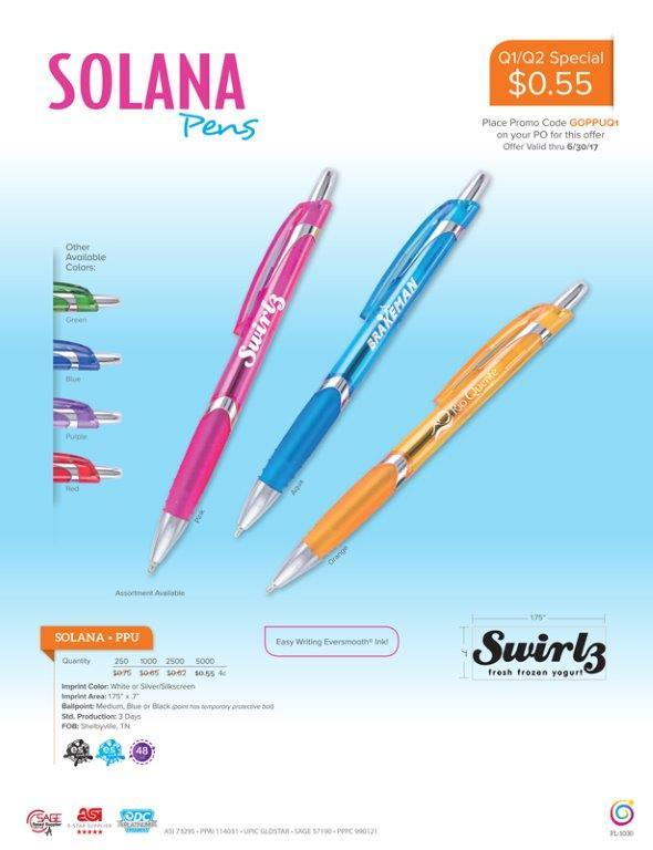 Special Savings on Bulk pens